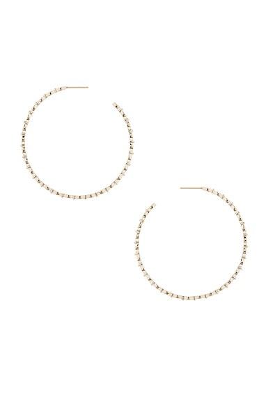 Yasmine Hoop Earrings