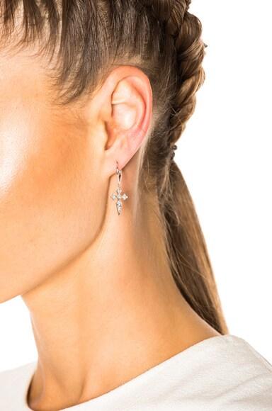 Blood Diamond Earrings