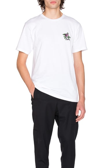 Stussy Rose Tee in White