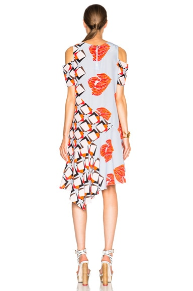 FWRD Exclusive Asymmetrical Dress