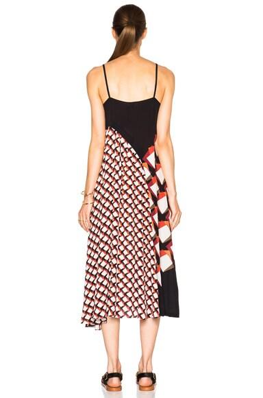 Pleated Underplay Maxi Dress