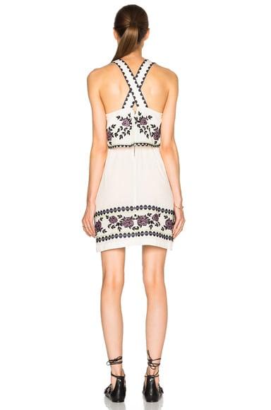 Cross Stitch Tie Dress