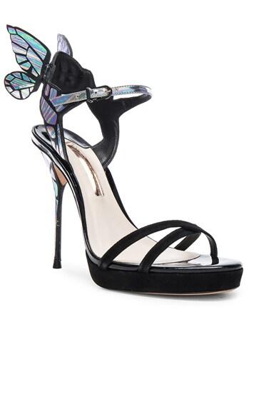 Suede Chaira Platform Heels