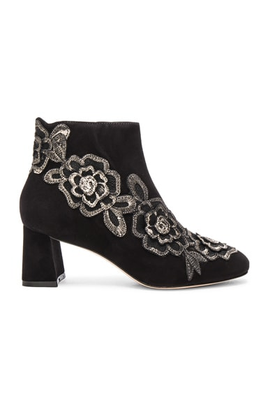 Suede Winona Mid Ankle Booties