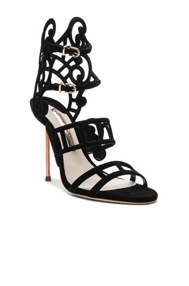 Suede Birdie Sandals