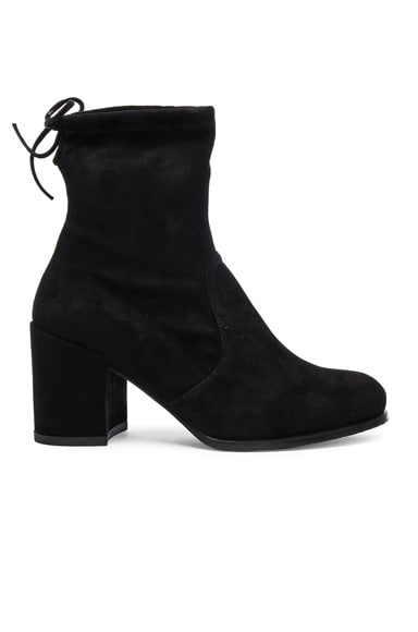Suede Shorty Booties