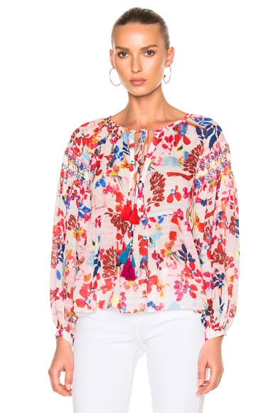 Floral Burst Clemence Top