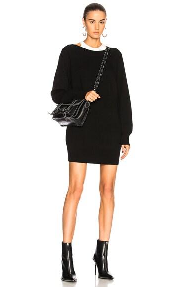 Bi-Layer Knit Dress