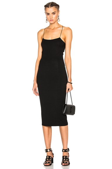 Modal Spandex Strappy Tank Dress