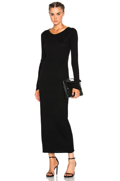 Roll Neck Maxi Dress