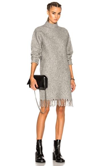 Fringe Hem Dress