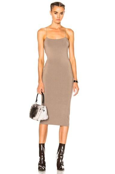 Modal Spandex Strappy Cami Dress