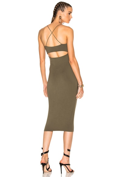 Modal Spandex Strappy Cami Tank Dress