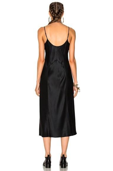 Slip Dress with Threadwork