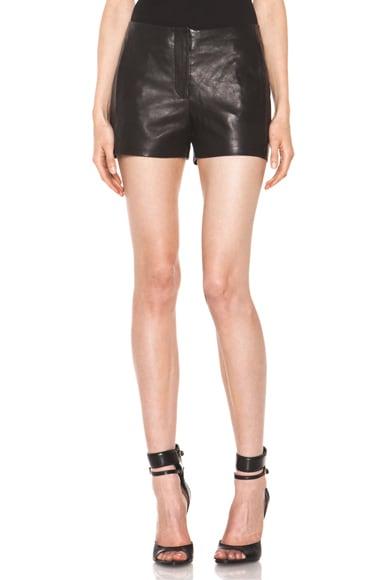 Lightweight Leather Short