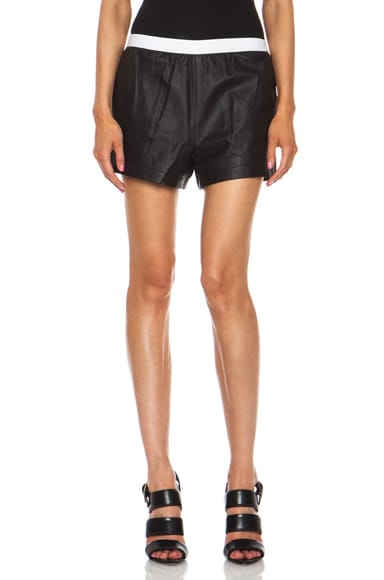 Matte Lamb Shorts