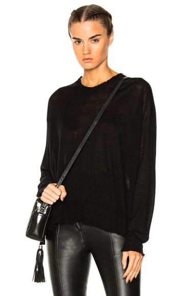 Long Sleeve Pullover Sweater T by Alexander Wang