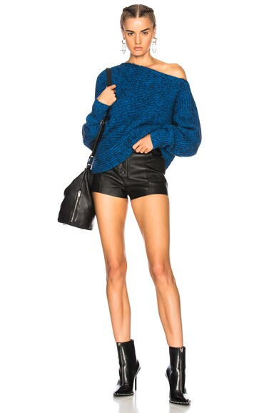 Mohair Asymmetrical Sweater