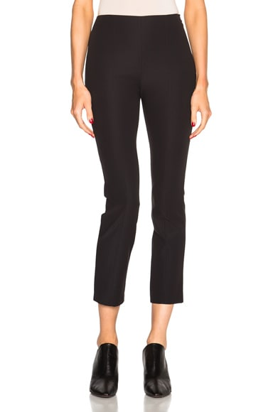T by Alexander Wang Tech Suiting Fitted Pants in Black