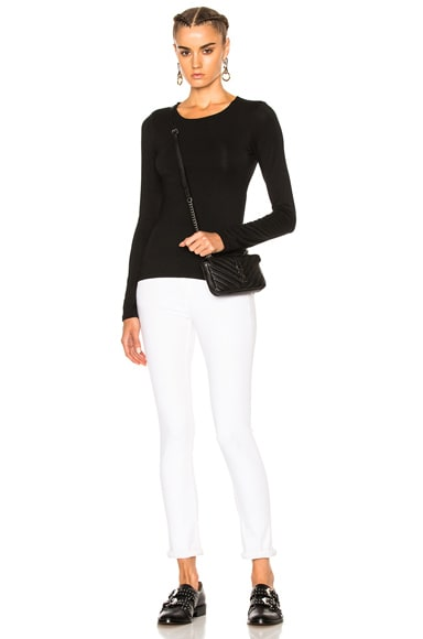 Modal Spandex Long Sleeve Tee