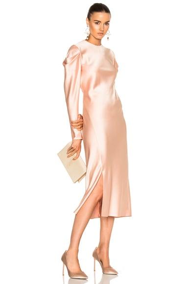 Drape Sleeve Dress