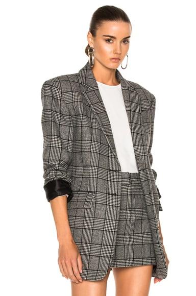 Tweed Oversized Blazer Tibi