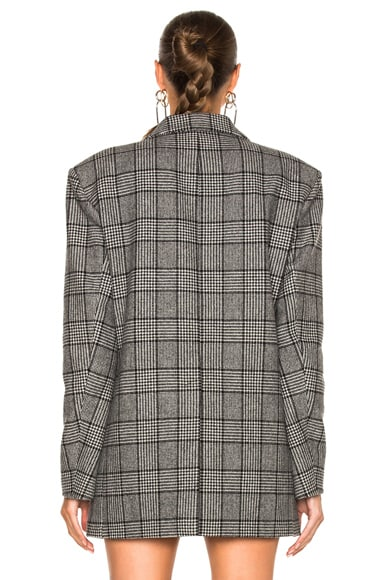 Tweed Oversized Blazer