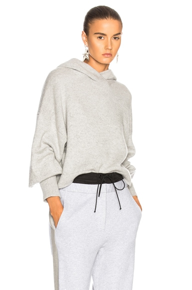 Cashmere Bell Sleeve Hoodie