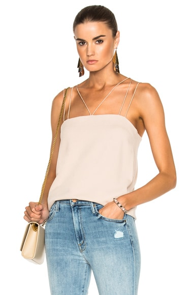 Savanna Crepe Strappy Cami