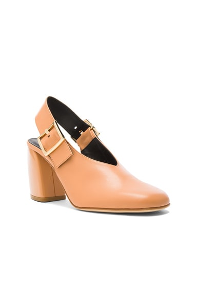 Leather Jillian Heels