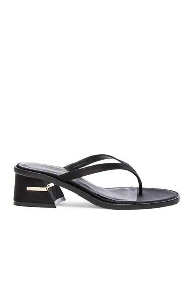 Tibi Mira Sandals in Black