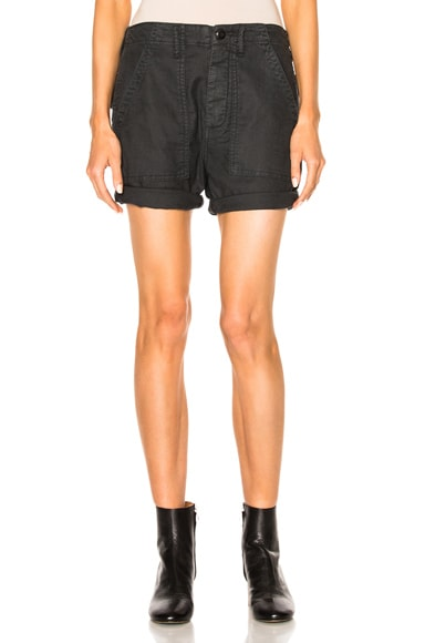 The Great Army Shorts in Washed Black