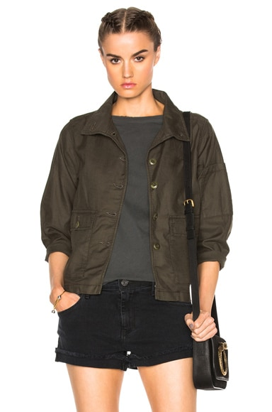 The Great Station Jacket in Military
