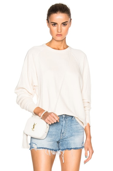 The Great College Sweatshirt in Vanilla
