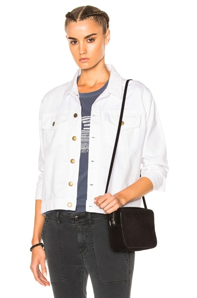 The Great Boxy Jean Jacket in Sail Wash