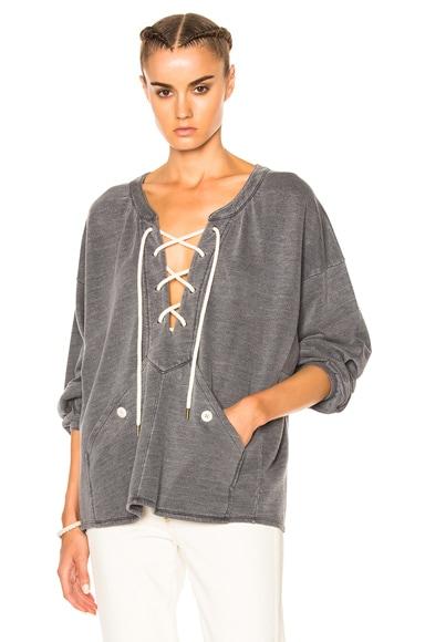Rope Pullover Sweatshirt