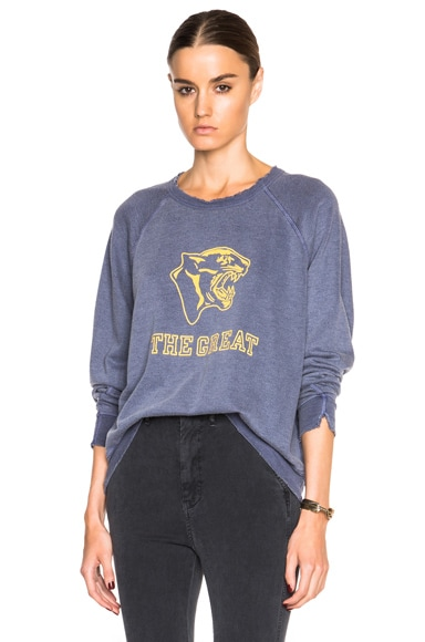 The Great Panther Sweatshirt in Crown Blue
