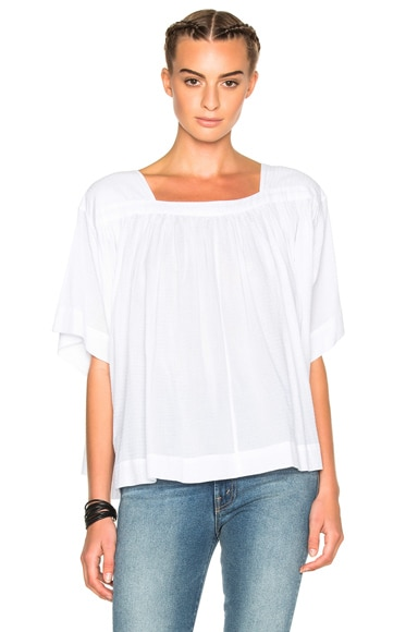 The Great Poet Top in Off White