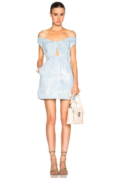 Thakoon Cut Out Dress in Light Blue
