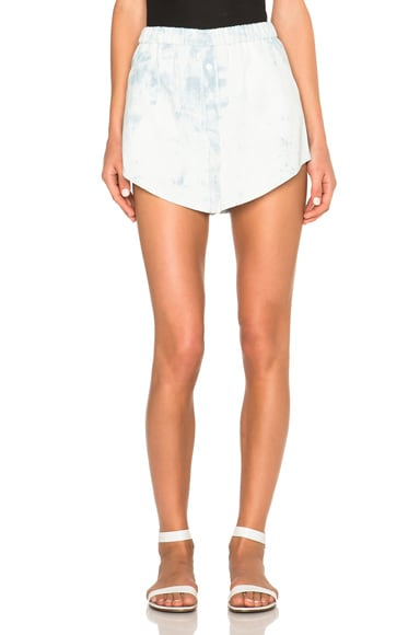 Thakoon Sac Shorts in Light Blue