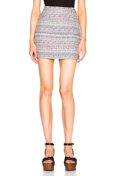 Thakoon Mini Skirt in Lavender Multi
