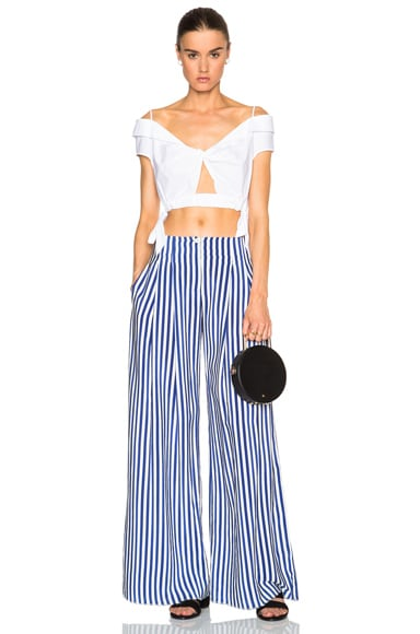 Twist Side Crop Top
