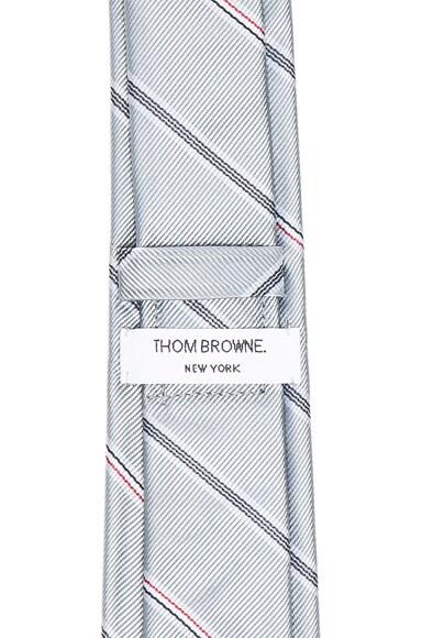 Engineered Stripe Silk Jacquard Tie