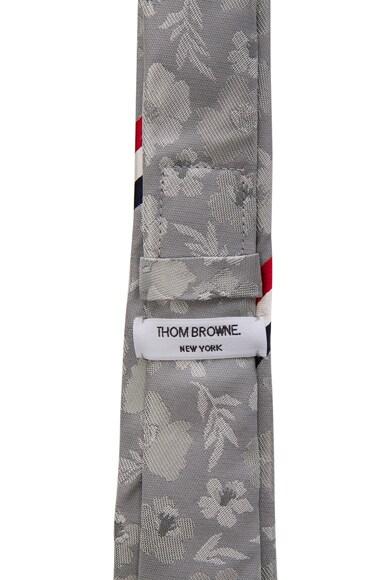 Floral Silk Jacquard Tie