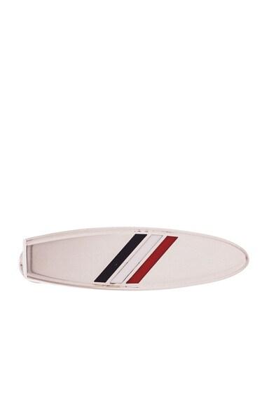 Thom Browne Surfboard Tie Bar in Silver