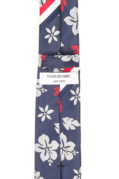 Hibiscus Silk Tie