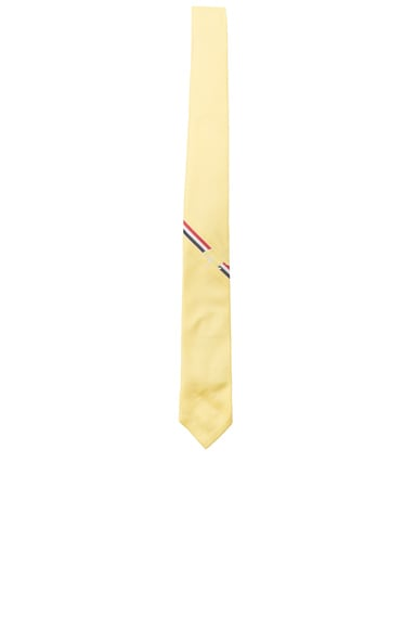 Thom Browne Classic Fish Tie in Yellow