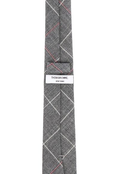 Overcheck Windowpane Tie