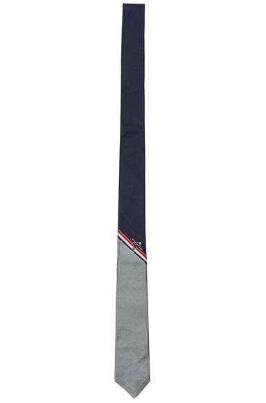 Classic Skier Engineered Stripe Tie