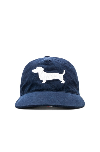 Embroidered Hector 5-Panel Baseball Cap
